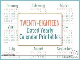 2018 Calendar Pages Tempss Co Lab Co