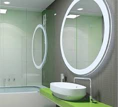 modern round bathroom mirror.  Mirror Decorative Ideas For Square Unique Round Lighted Mirror Fascinating  Modern Elegant Bathroom  Intended S