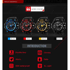 skmei men sports watch 50m swim dive led digital military big dial skmei 1155 military watch men quartz analog waterproof clock man sports watches army wristwatchess