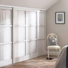 Mirrored Closet Doors With Wood Inlay   Glass Sliding Wardrobe Doors    Built In Wardrobes UK