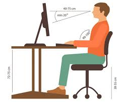 you should mostly be concerned about desk height if you are a tall person if your desk is too low it will not matter to which height you set your chair