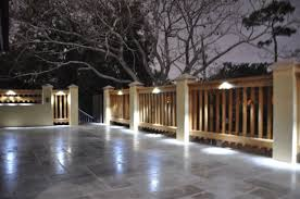 led deck rail lights. Decks Ideas Led Deck Lighting Kit Wood System I Kits Rail Lights