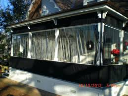 clear vinyl curtains roll up outdoor shades designs retractable