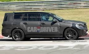 Fourtitude.com - Spied: 2013 Mercedes-Benz GL-Class