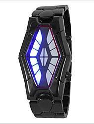 black chain led watch lightinthebox com creative cobra snake led watch men s watch