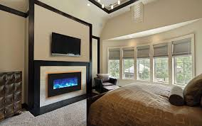 bedroom best bedroom with rectangle modern fireplace decor ideaodern window added tv wall