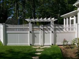 Wonderful Vinyl Privacy Fence Ideas Transitioning To On Decorating