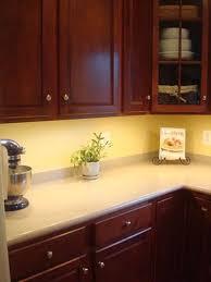xenon task lighting under cabinet. Photo Showing New Xenon Thin Under Cabinet Task Lights Added To A Kitchen Lighting Pegasus