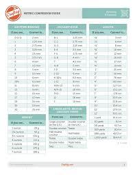 Knitting Yarn Size Chart Knitting Crochet Conversion Charts
