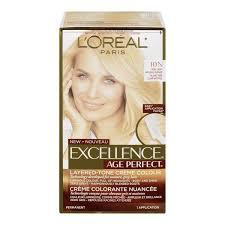 Amazon Com L Or Al Paris Age Perfect Permanent Hair Color 10n