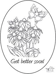 Get Well Soon Coloring Pages Get Better Coloringstar