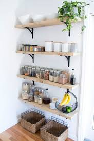 Small Picture Best 10 Kitchen wall shelves ideas on Pinterest Open shelving