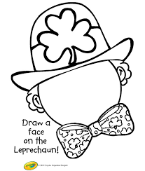 Free St Patricks Day Coloring Pages Happiness Is Homemade