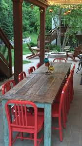 best paint for outdoor wood furnitureBest 25 Painted farmhouse table ideas on Pinterest  Refurbished