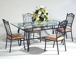 glass metal dining table room tables with worthy top base round