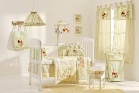 bedroom white wooden crib with smooth green bedding set added by smooth green fabric curtain