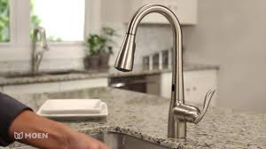 Moen Touchless Kitchen Faucet Moen Arbor With Motionsense One Handle High Arc Pulldown Kitchen