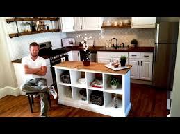 kitchen island table ikea. Exellent Kitchen IKEA HACK  Kitchen Island DIY Project And Table Ikea