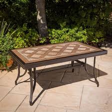 tile outdoor table. Stunning Design For Mosaic Patio Table Ideas How To Make A Tile Top Modern Outdoor