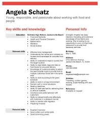 Resume Resume Skills For High School Graduate With No Work Experience
