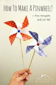 how to make a pinwheel step by step instructions for making pinwheels in any color