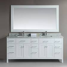 Get free shipping on qualified 78 bathroom vanities or buy online pick up in store today in the bath department. London 78 Double Sink Vanity Set White Design Element New Bathroom Style