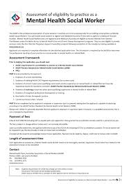Mental Health Worker Resume Cover Letter Mental Health Worker Choice