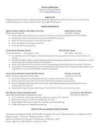 Automotive Technician Resume Diesel For Job Description Of A