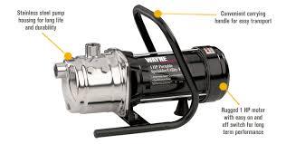 garden hose pump. Features For Wayne Stainless Steel Self-Priming Utility/Sprinkler Booster Water Pump \u2014 720 Garden Hose