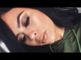 olive green fall makeup tutorial