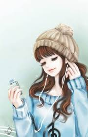Mad for listening music | Cartoon girl images, Cartoon girl drawing, Girls  cartoon art