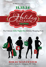 Dallasblack Com Glam Galore Holiday Shopping Party