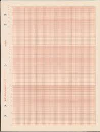 Keuffel Esser 46 5493 3 Cycle Semi Logarithmic Paper In