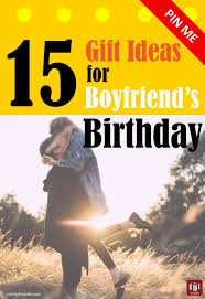 unique birthday gift ideas for boyfriend s birthday