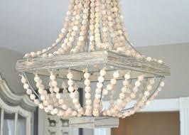 wood beaded chandelier impressive wood bead chandelier also small in wooden beaded chandelier view