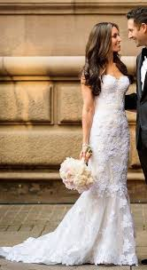 best 25 fitted lace wedding dress ideas
