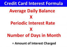 Credit Card Interest Calculator How To Calculate Credit Card Interest Loaninformer