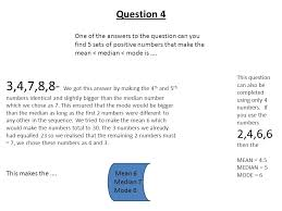 Mean Median Mode Answers Worksheets for all | Download and Share ...