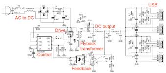 schematic usb charger the wiring diagram teardown of the mysterious kms 4 port usb charger schematic
