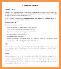 Company Profile Sample Download Mesmerizing Company Business Profile Sample Puebladigitalnet