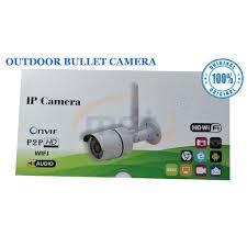 1080P <b>Wireless Outdoor</b> Bullet IP <b>WIFI</b> Camera Waterproof   Shopee ...