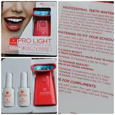 Luster Pro Light Coupon Luster Premium White Pro Light Teeth Whitening System Voice
