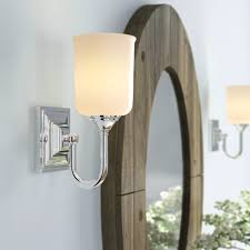 Small Mirrors Mounted Vanity Sconces Light Ideas Cabinet Drilling