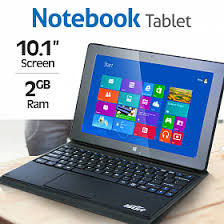 2 inch notebooks isurf 2 in 1 notebook tablet is1834ict intel quad core 2gb ram