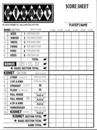 kismet game sheets save 4 29 on kismet dice game replacement scorepads only 6 70
