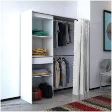 Vidaxl armadio con tenda larghezza regolabile 121 168 cm bianco