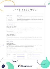 Modern Resume Sheet 50 Free Resume Templates For Microsoft Word To Download