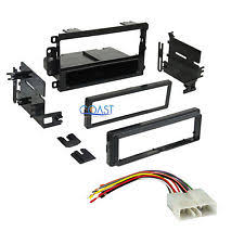 geo tracker radio single din car radio stereo dash kit wire harness for 1995 97 geo metro tracker