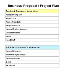 Project Proposal Template Doc Business Or 4 Splendid Templates It ...