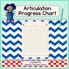 Speech Therapy Progress Chart Speech Therapy Articulation Progress Chart For Elementary Students